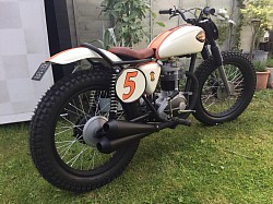 wheels by us for this BSA Tracker
